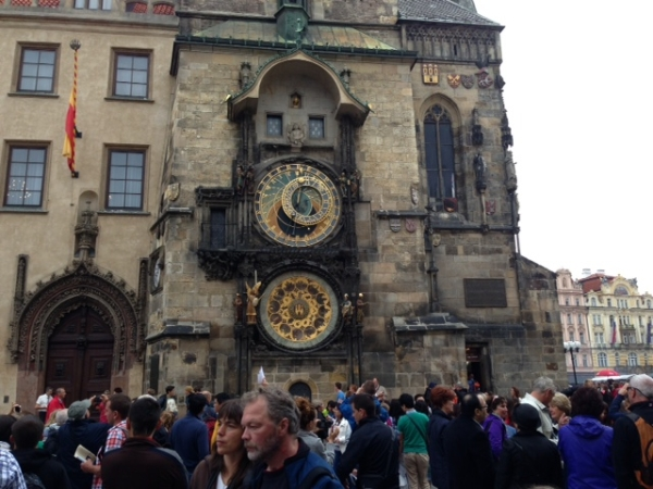 Jeanie Prague 2013 - Clock Tower